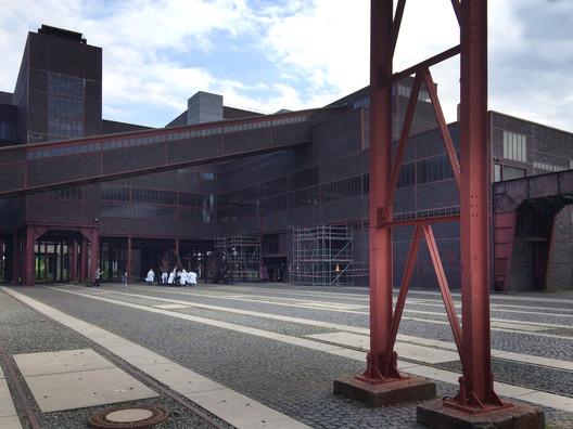 Zollverein-style Bachelorette Party. Image © Gili Merin