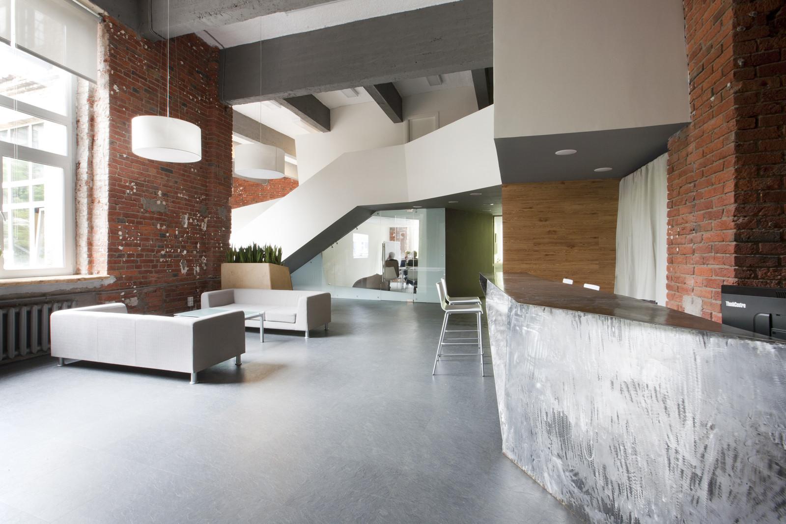 Office of the brand agency Svoyo mneniye / za bor Architects, Courtesy of za bor Architects