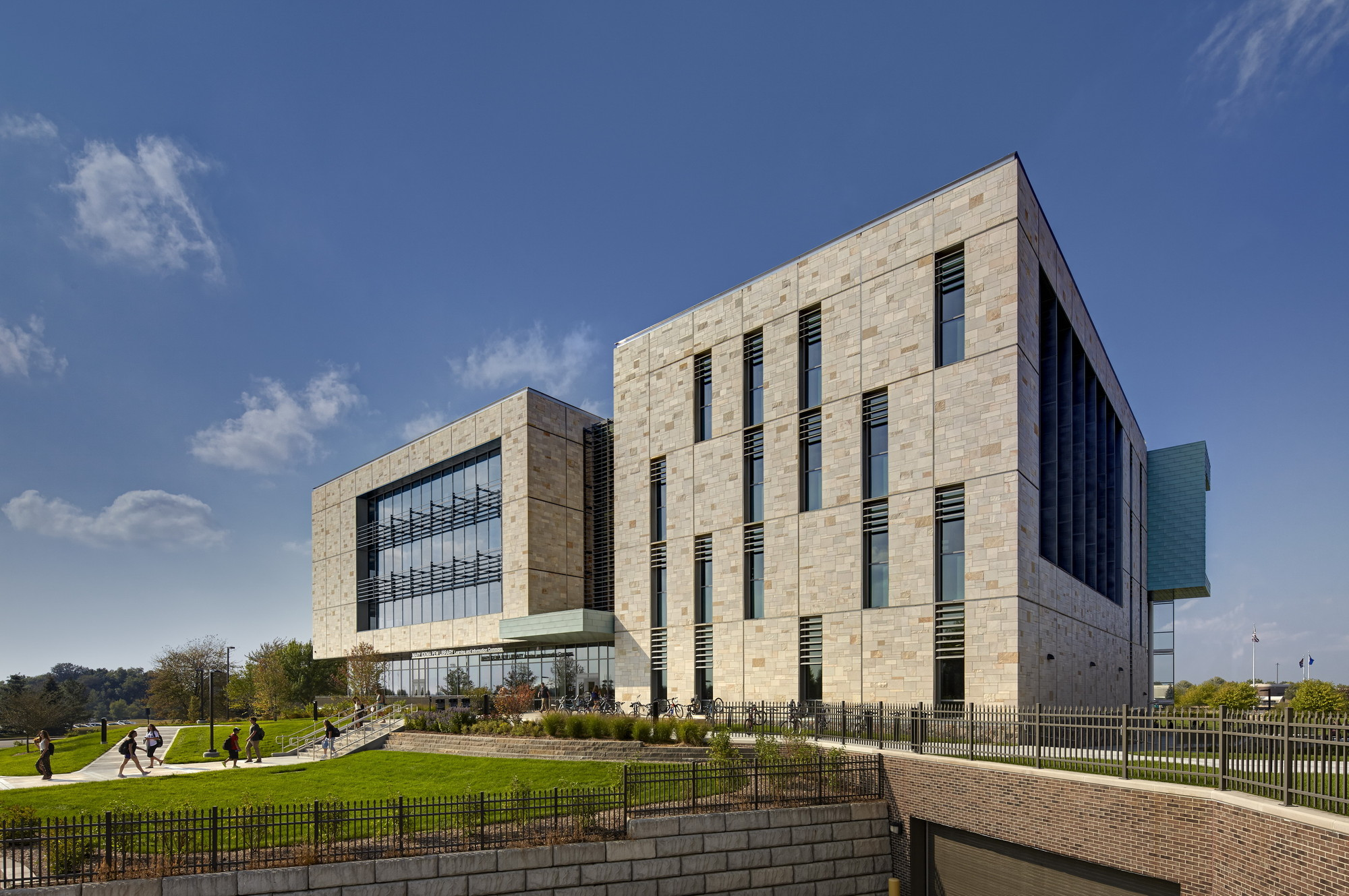 GVSU Pew Library / Stantec, Courtesy of Stantec