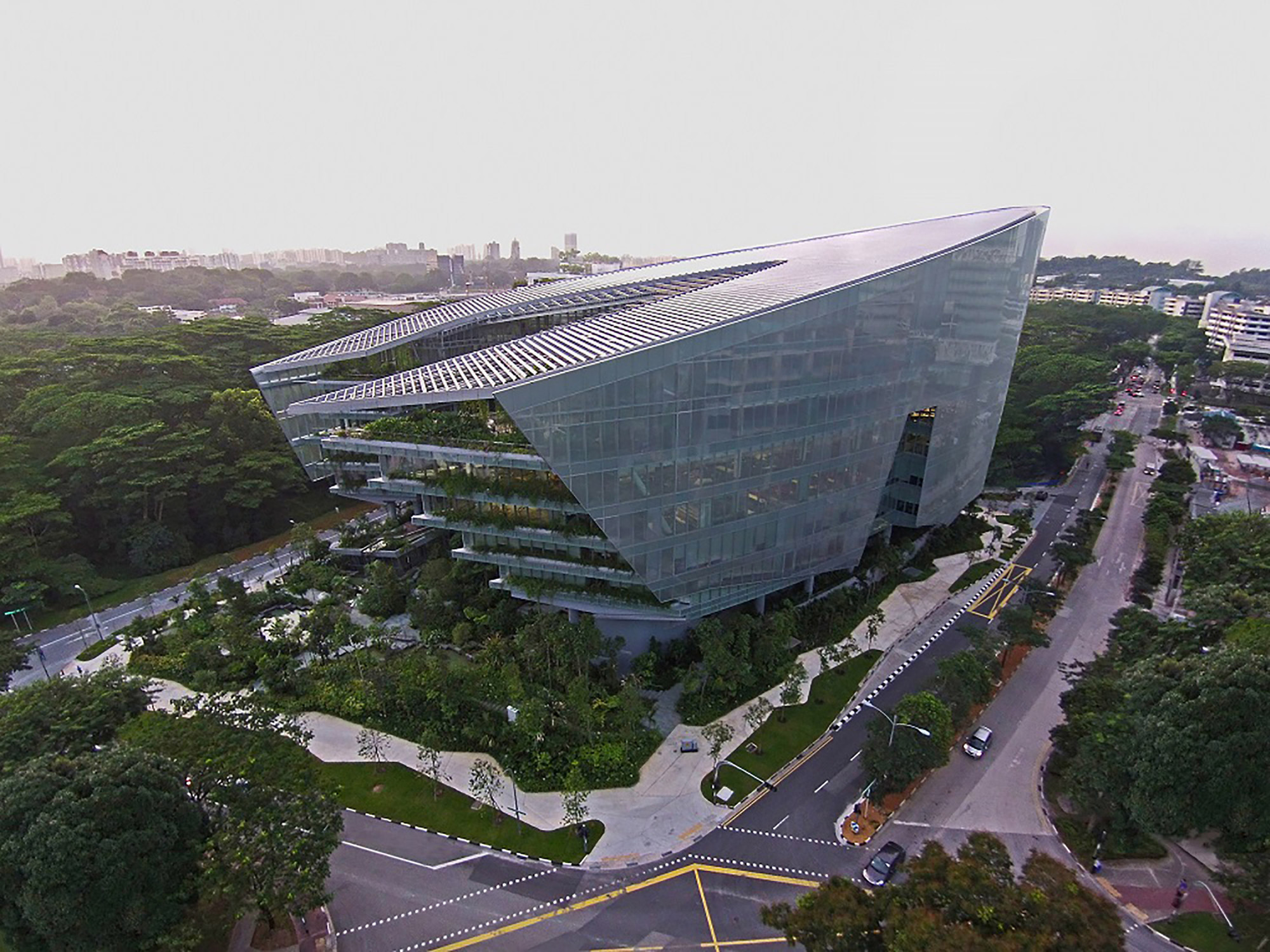 Sandcrawler / Andrew Bromberg of Aedas, Courtesy of Aedas