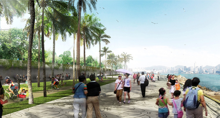West Kowloon Cultural District Park / West 8 + Dennis Lau & Ng Chun Man Architects & Engineers + ACLA, Courtesy of West 8