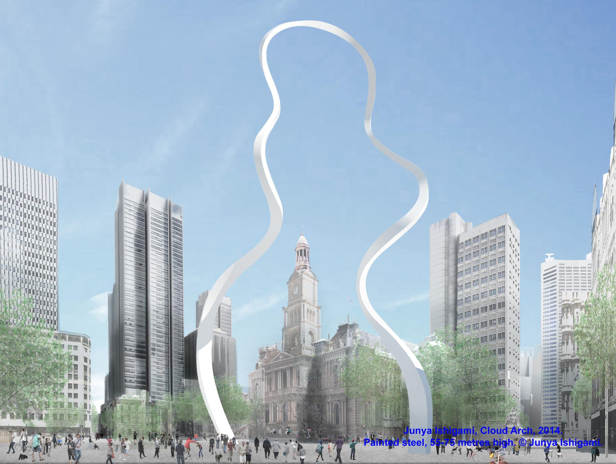 """Junya Ishigami instalará """"Arco-Nube"""" en el centro de Sydney, © Junya Ishigami"""