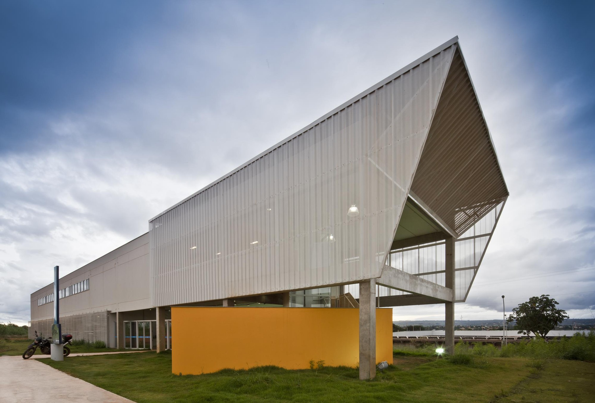 Bloque de salas de aula norte ceplan plataforma for Aulas web arquitectura