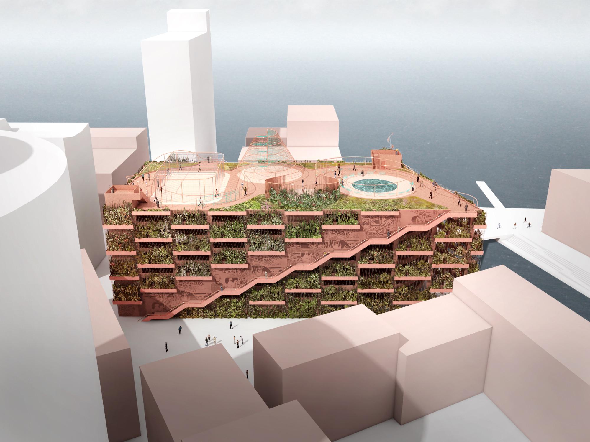 Jaja Designs Quot Park N Play Quot Parking Garage In Copenhagen