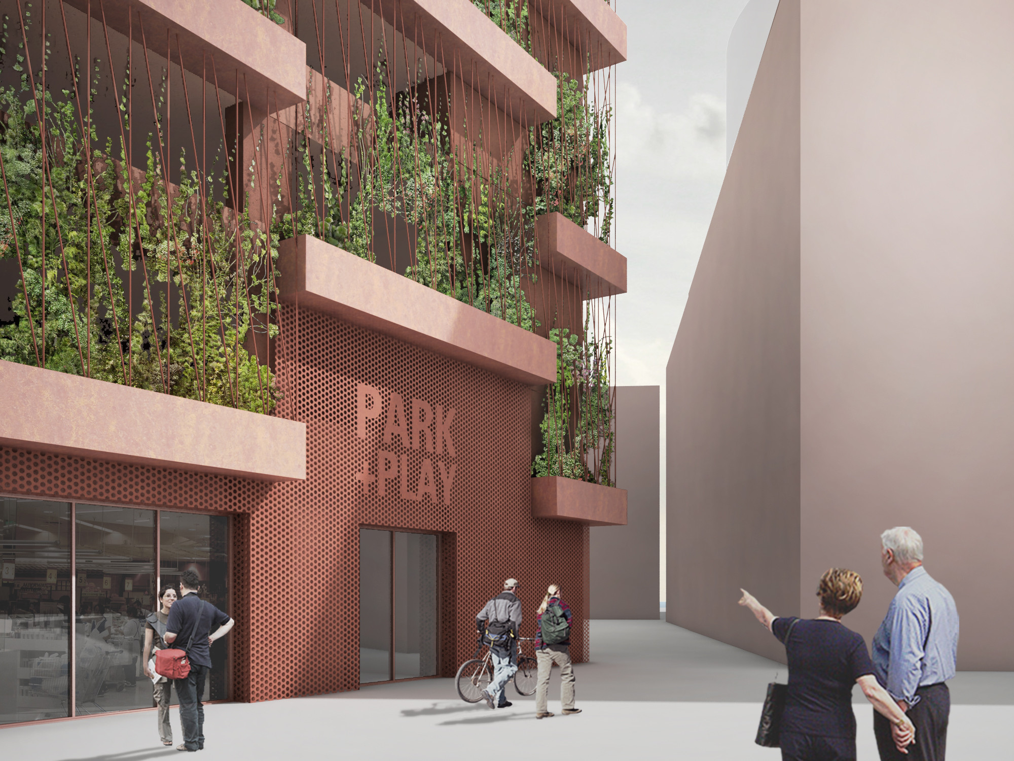 Jaja Designs Park N Play Parking Garage In Copenhagen Archdaily