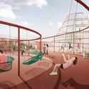 The Rooftop Playground. Image © JAJA Architects