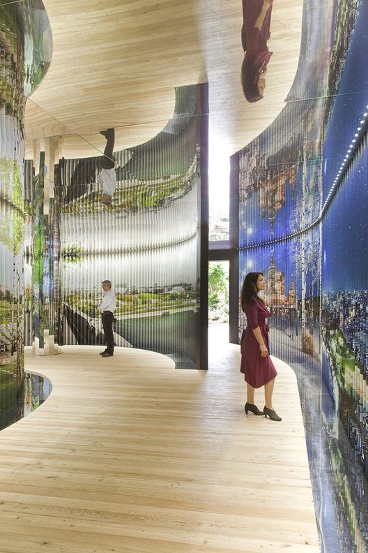 """""""Moskva: Urban Space"""" investiga o futuro dos espaços públicos de Moscou na Bienal de Veneza 2014, © Patricia Parinejad"""