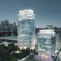 Asymptote Architecture´s proposal. Image Courtesy of Brooklyn Bridge Park Corporation via Architects Newspaper