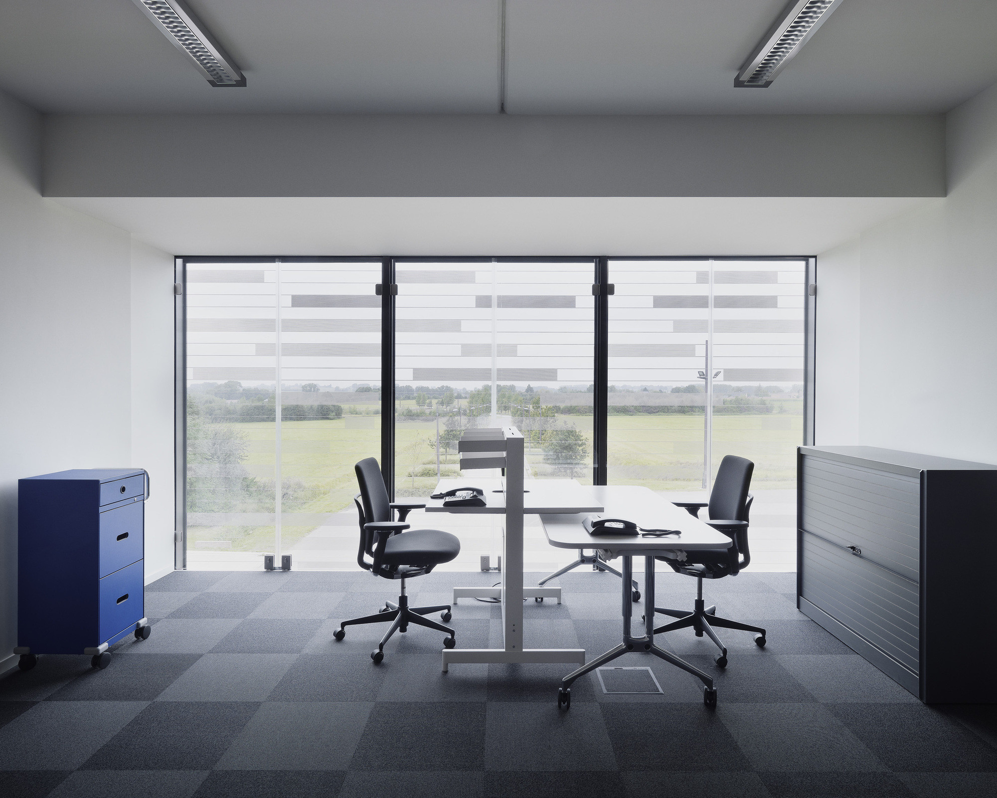 Perfect Could A Window Office Help You Sleep Better?,Generous Office Windows Such  As In