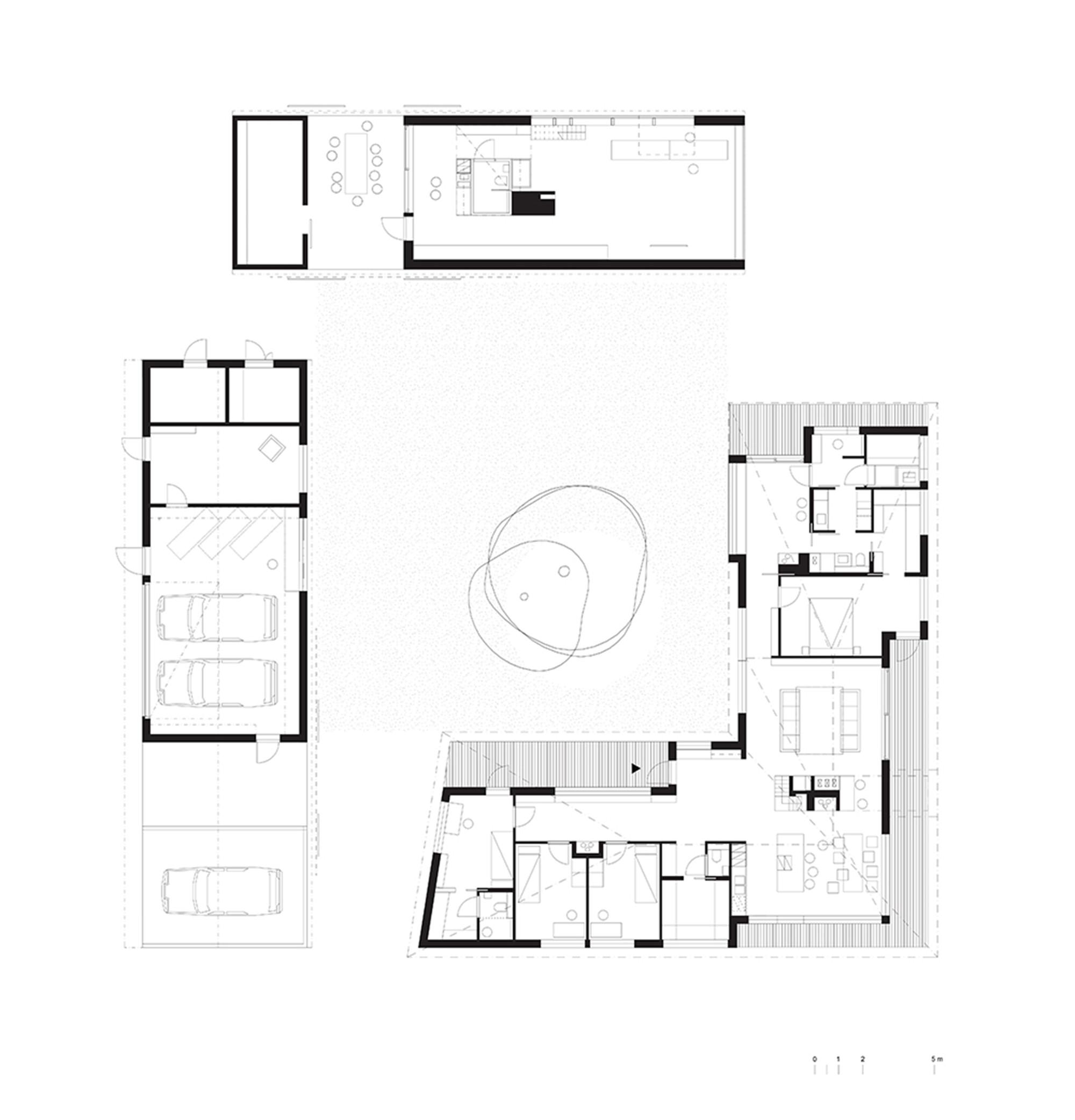 House riihi oopeaa archdaily for 100 floors floor 62