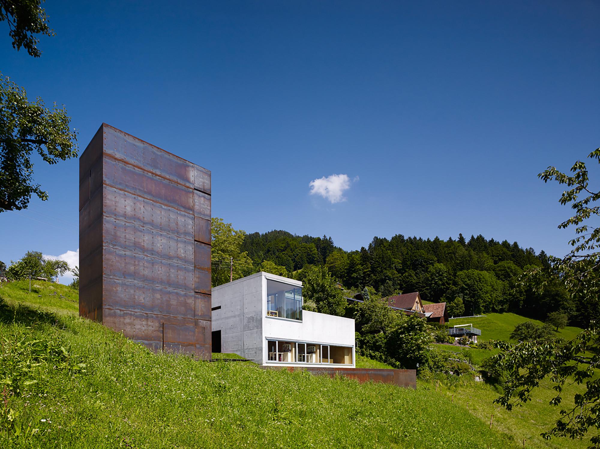 The Maiden Tower / Marte Marte Architekten, ©  Marc Lins