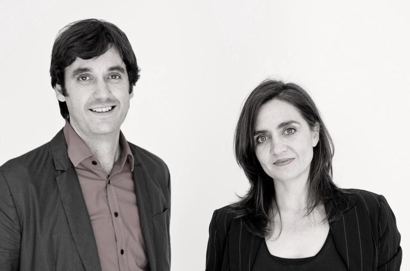 Ecosistema Urbano, ganadores del concurso de ideas que reformulará centro histórico de Asunción, José Luis Vallejo y Belinda Tato. Image © IE School of Architecture & Design