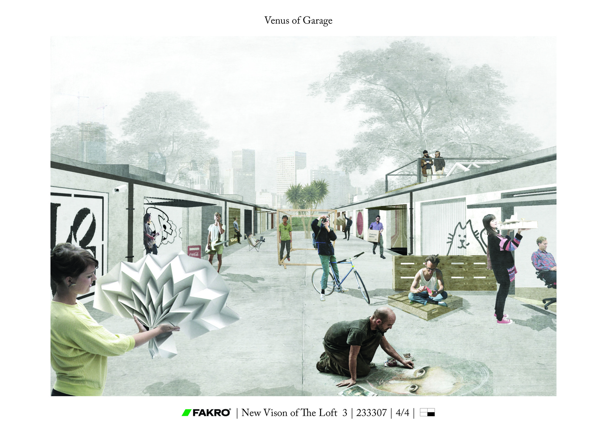 """Atelier of the Future"" Competition Results Announced, First Prize: VENUS OF GARAGE by Katarzyna Furgalińska and Michał Lisiński"