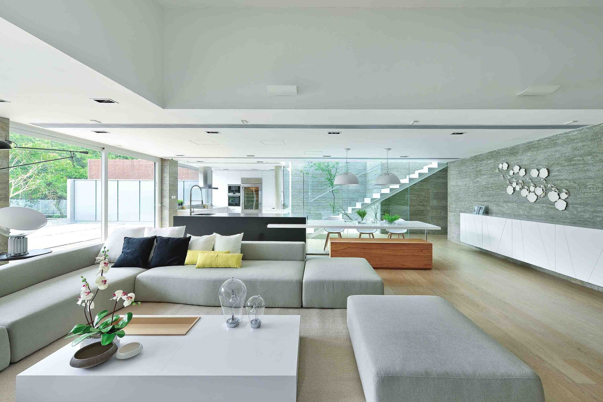 Gallery of House in Shatin Mid-Level / Millimeter Interior Design ...