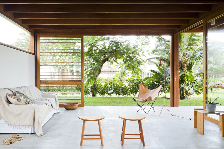 Casa Guaecá / AMZ Arquitetos, © Maíra Acayaba
