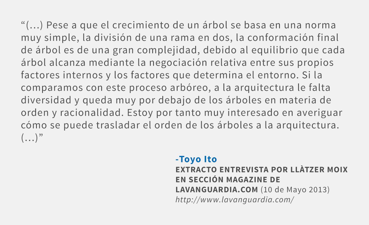 Frases: Toyo Ito