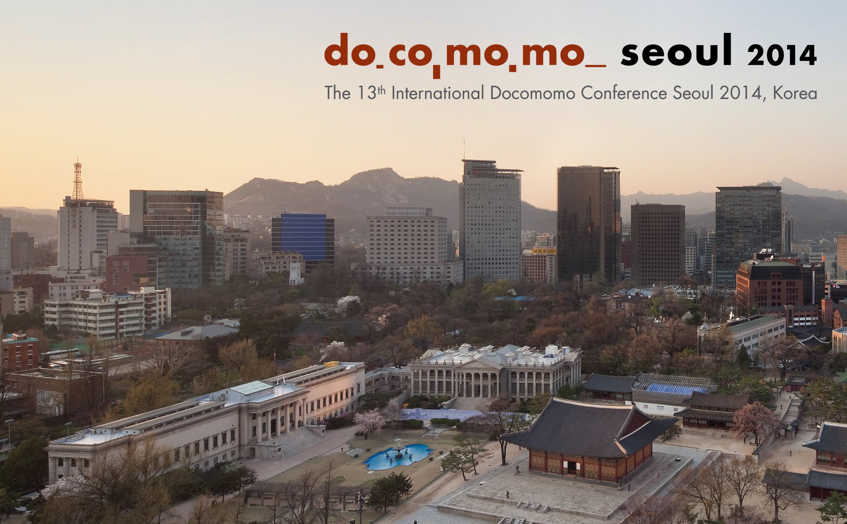"""Expansion and Conflict"": 13th International Docomomo Conference 2014, Courtesy of Docomomo International"