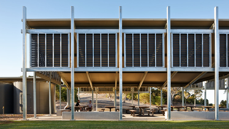 AGL Pavilion / Kennedy Associates Architects, © Peter Bennetts Photography