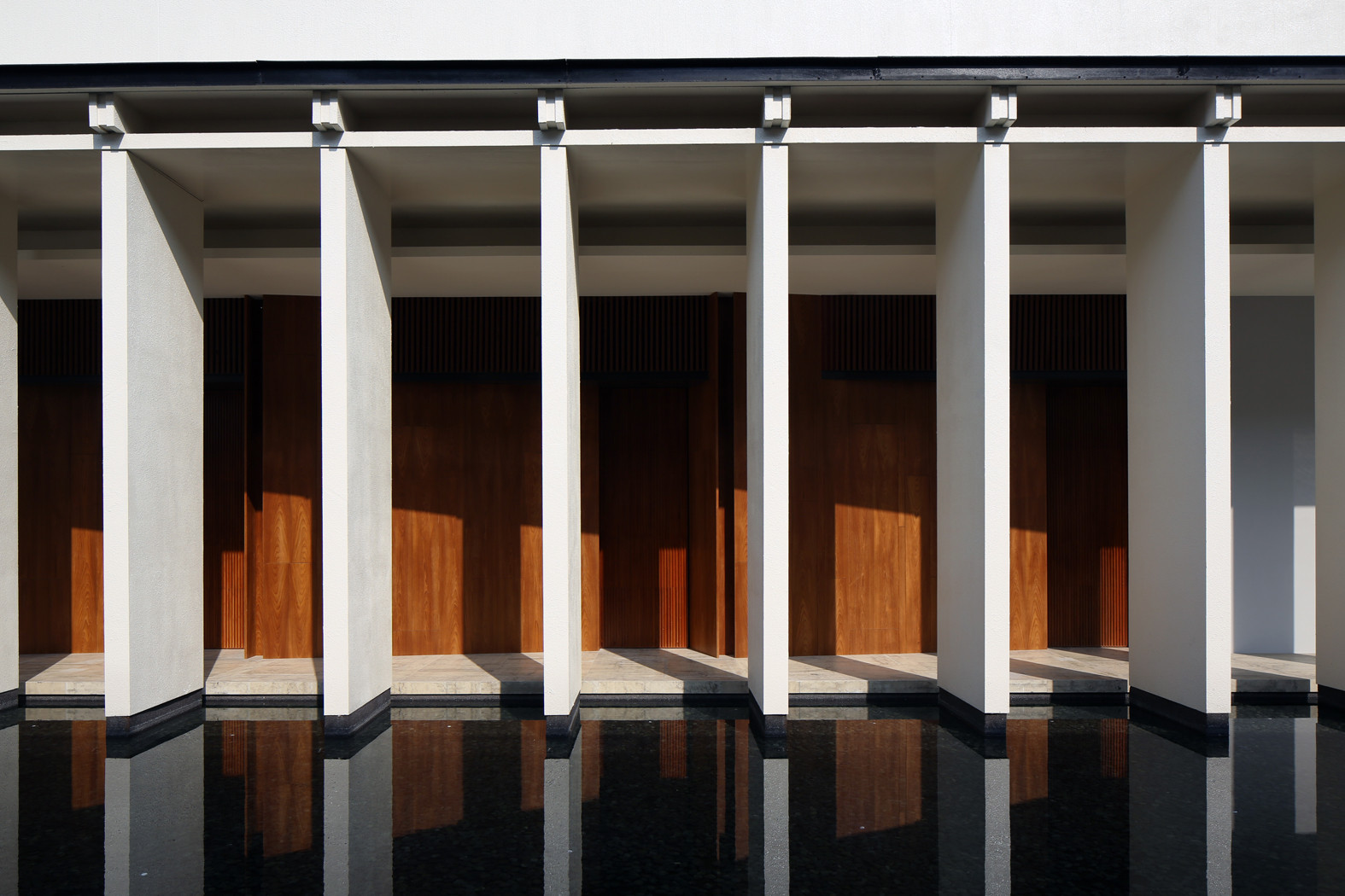 Gallery of exquisite minimalist arcadian architecture for Minimalist architecture theory
