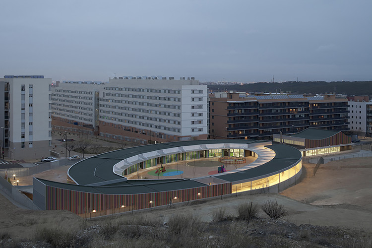 Centro de Educación Infantil en la Ecociudad Valdespartera / Magen Arquitectos, © Pedro Pegenaute