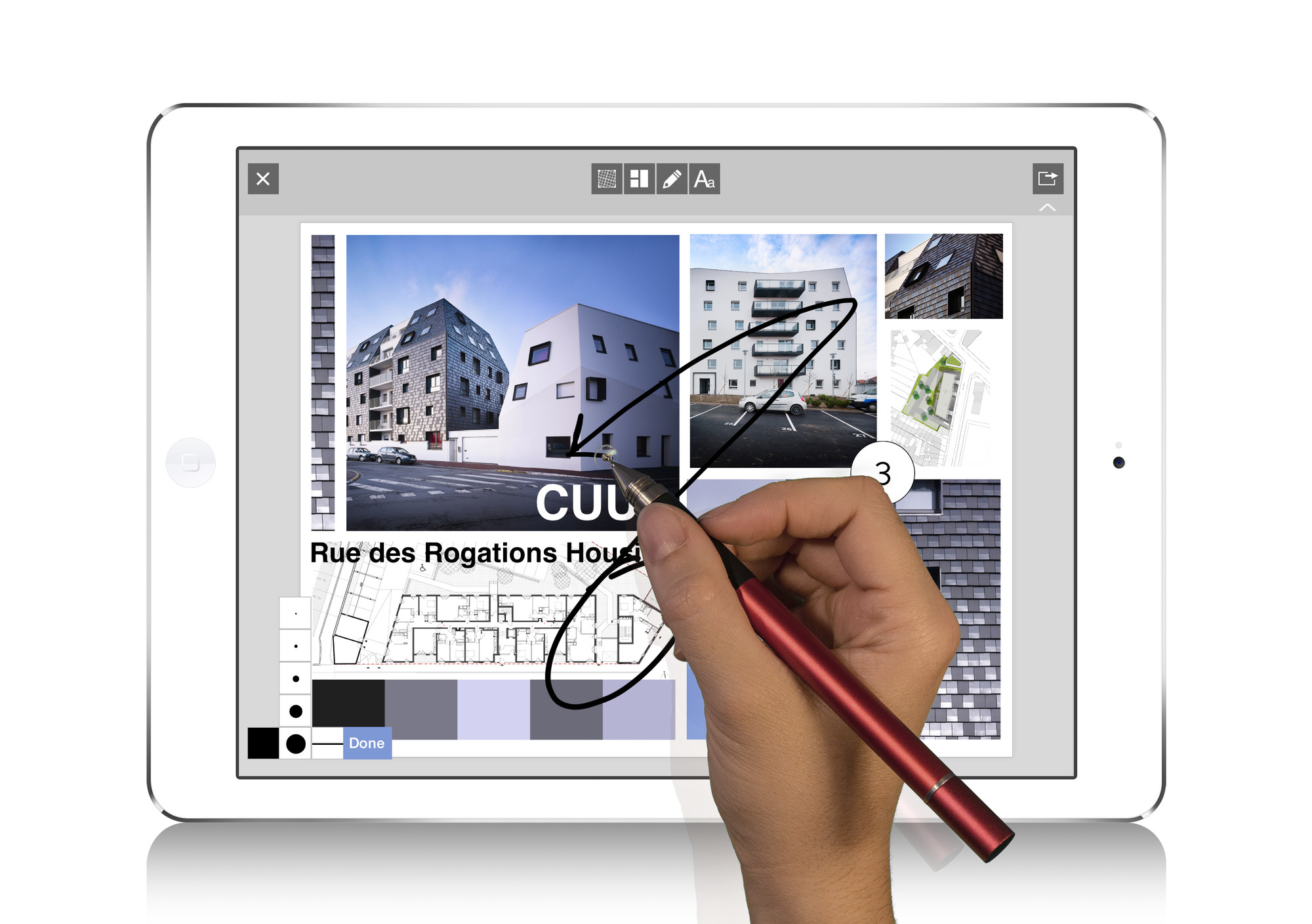 AD App Guide: Morpholio Board 2.0., Courtesy of the Morpholio Project