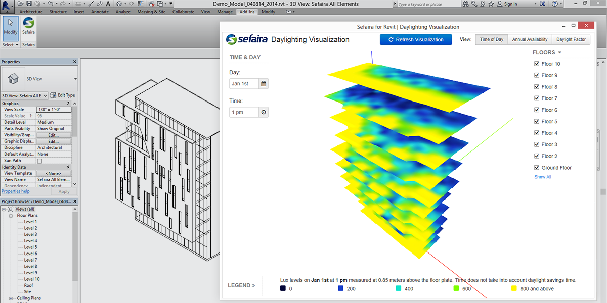 Sefaira Announces Real-Time Daylight Visualisation Tool for ... on