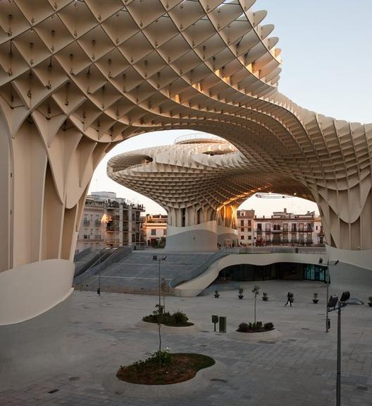 Dia Mundial da Fotografia: Fernando Alda por Felipe Assadi, Metropol Parasol / Jürgen Mayer H. Architects. Image © Fernando Alda