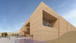 Segundo Lugar en concurso de ideas para el Museo Nacional del Perú