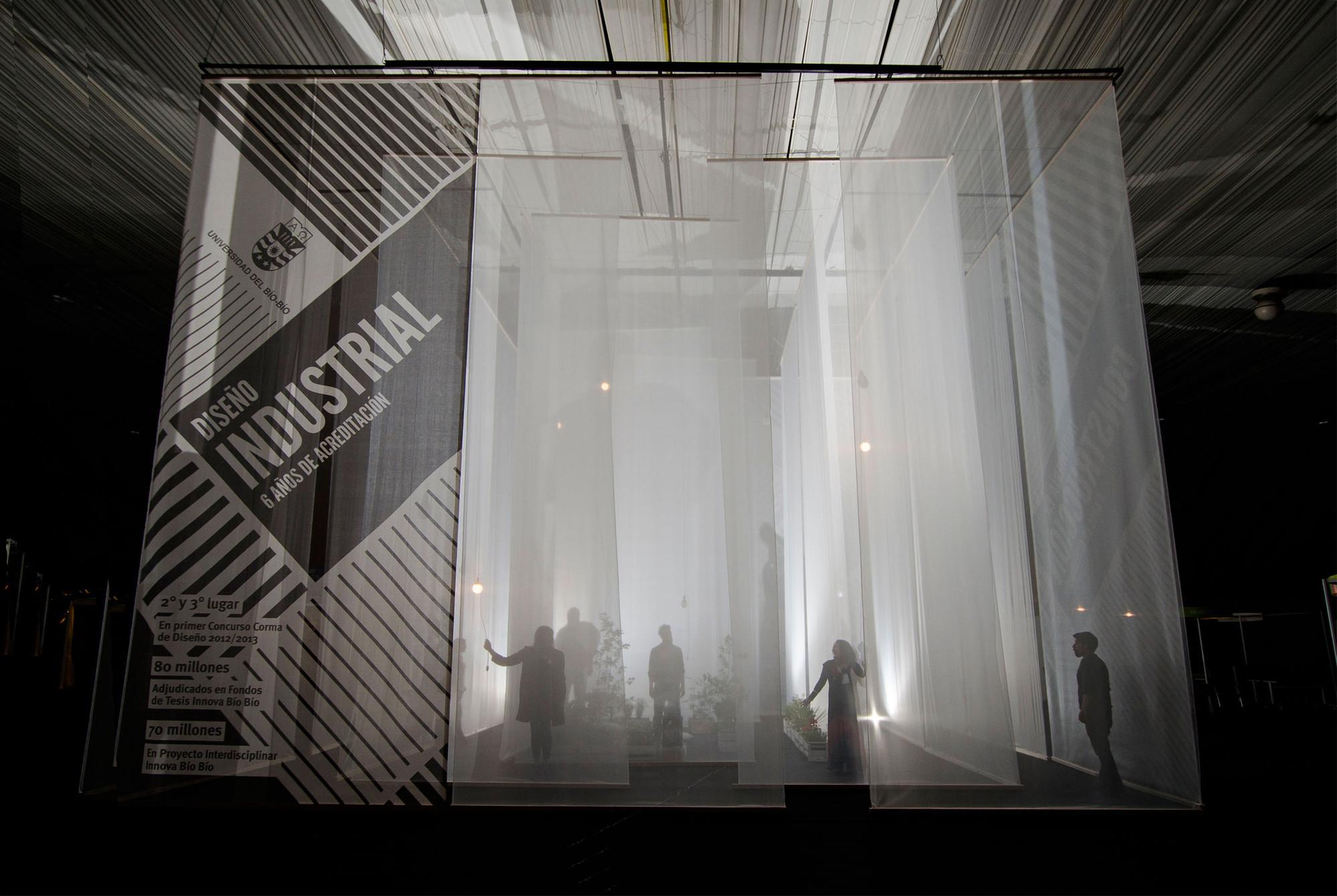 Pabellón Difuso por República Portátil: un juego de percepciones espaciales , © Gino Zavala Bianchi