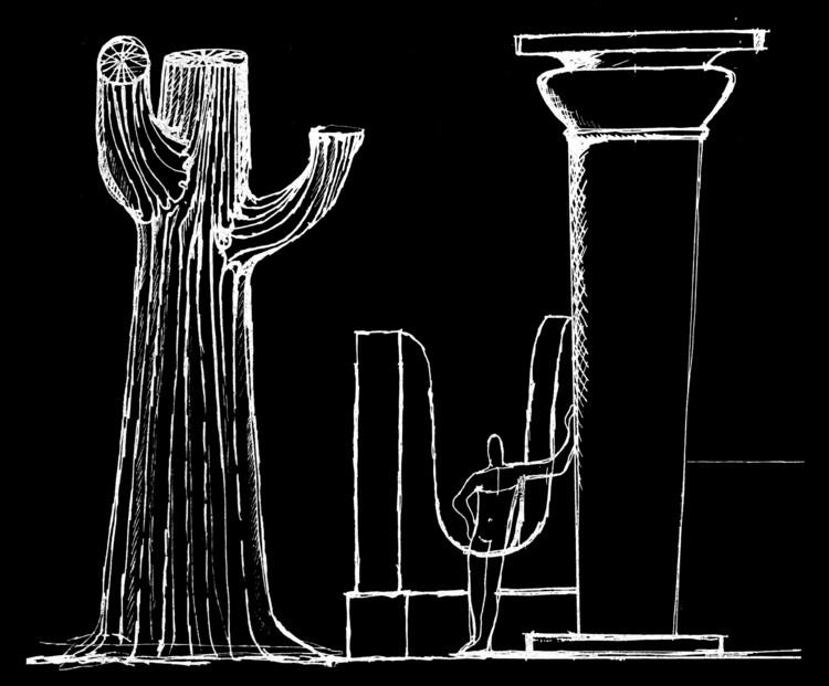 Instituição Arquitetônica: Escrito-Leitura 12 / Juan Borchers, Natureza vs. Ordem Artificial. © Juan Borchers