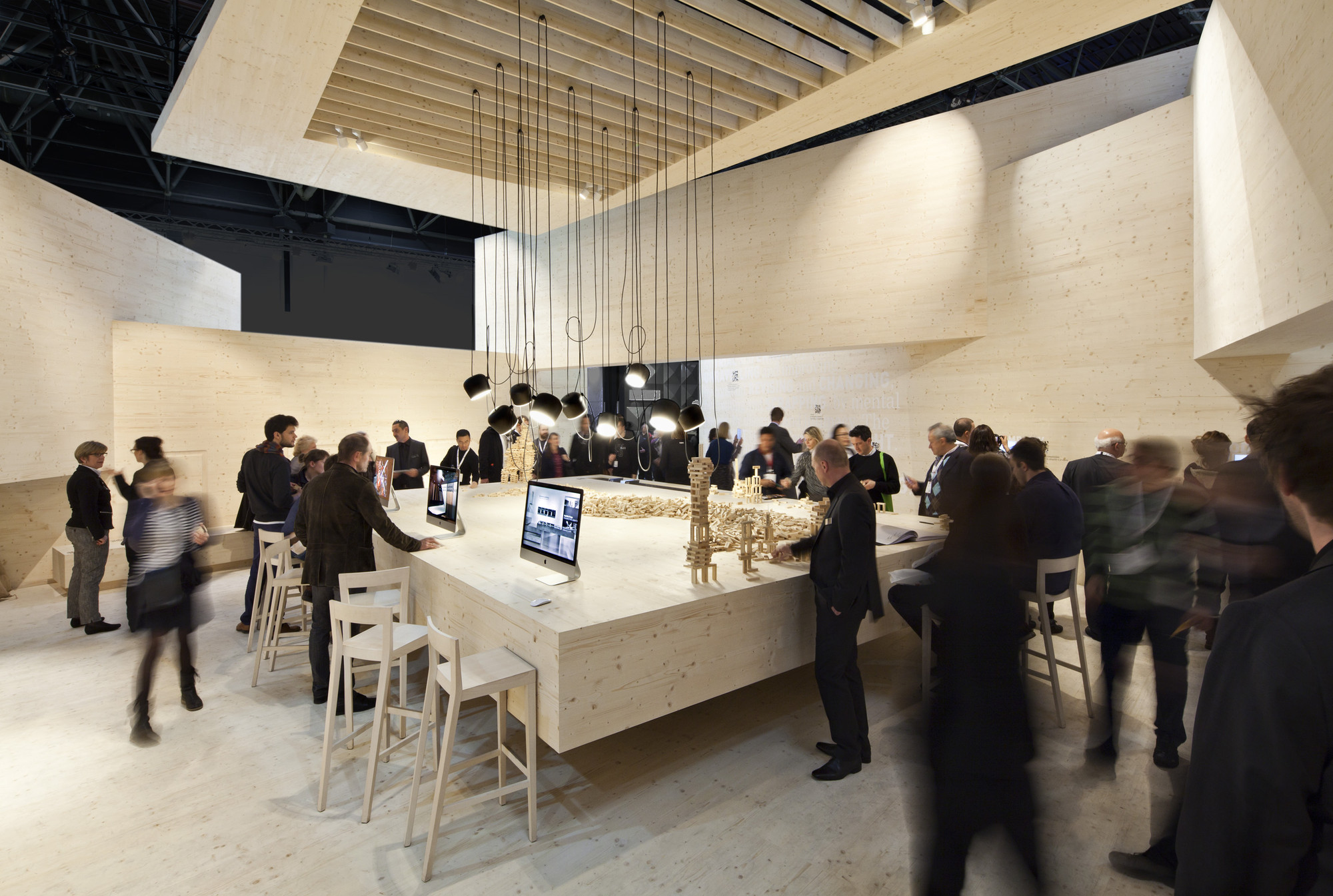 Exhibition Booth Area : Euroshop stand d art design gruppe archdaily
