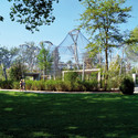 Integretation of the grounds into the Rosensteinpark. Image © Hugo Jehle