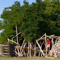"""""""Labyrinth,"""" the project led by Gilabert at Hello Wood. Image © Tamás Bujnovszky"""