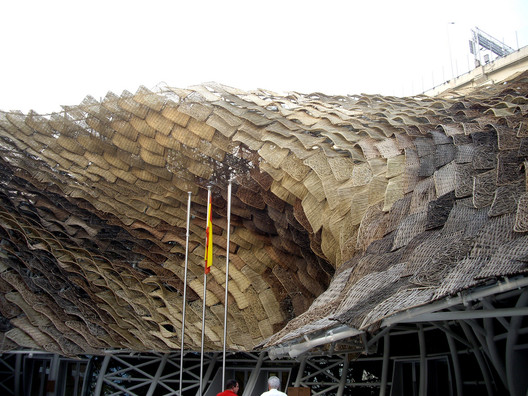 The Spanish Pavilion at the 2010 Shanghai Expo