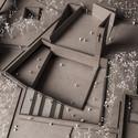 Model. Image Courtesy of PWFERRETTO / ESOU Architects