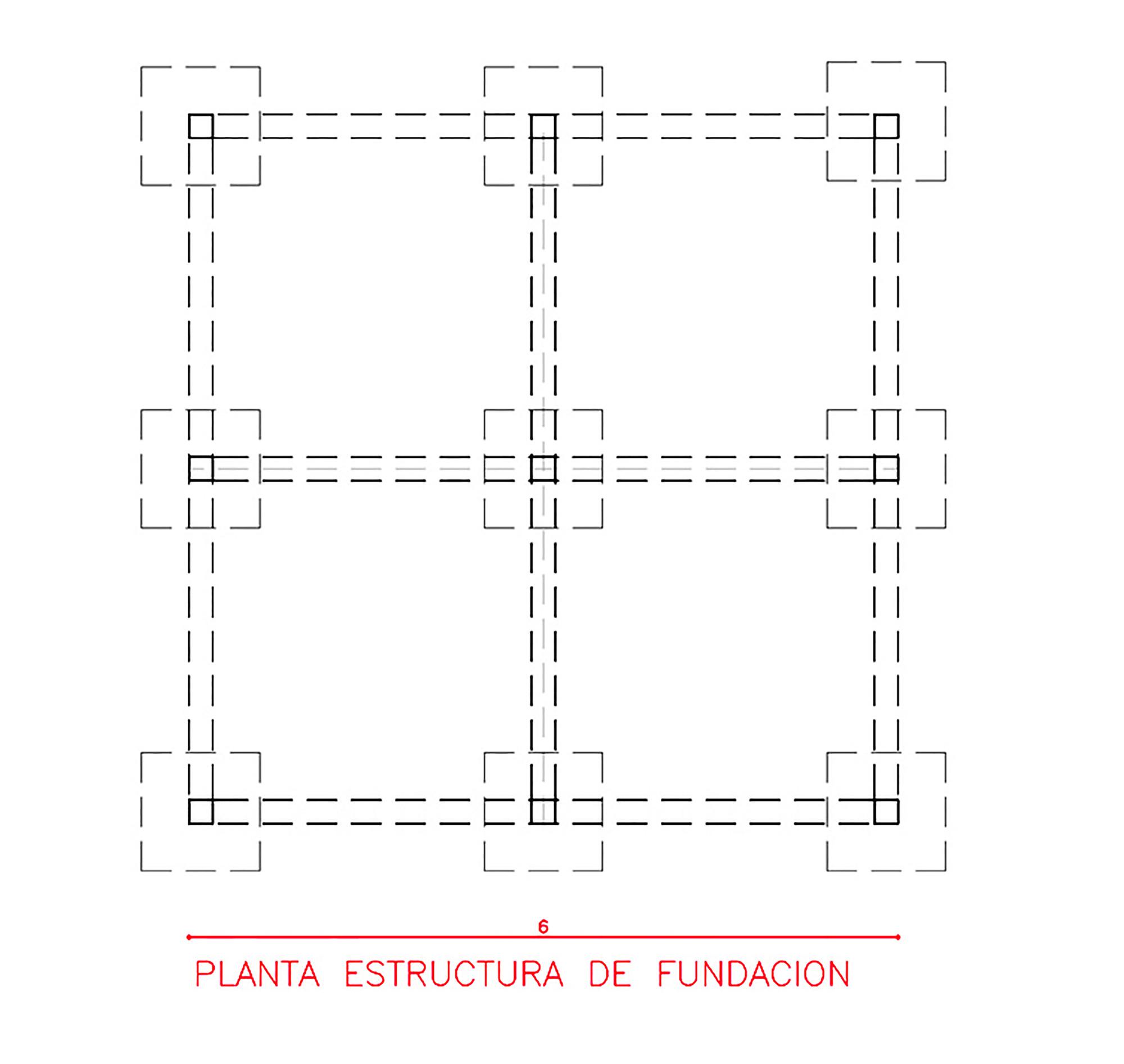Galeria de cabana delta atot 16 for Estructura arquitectura