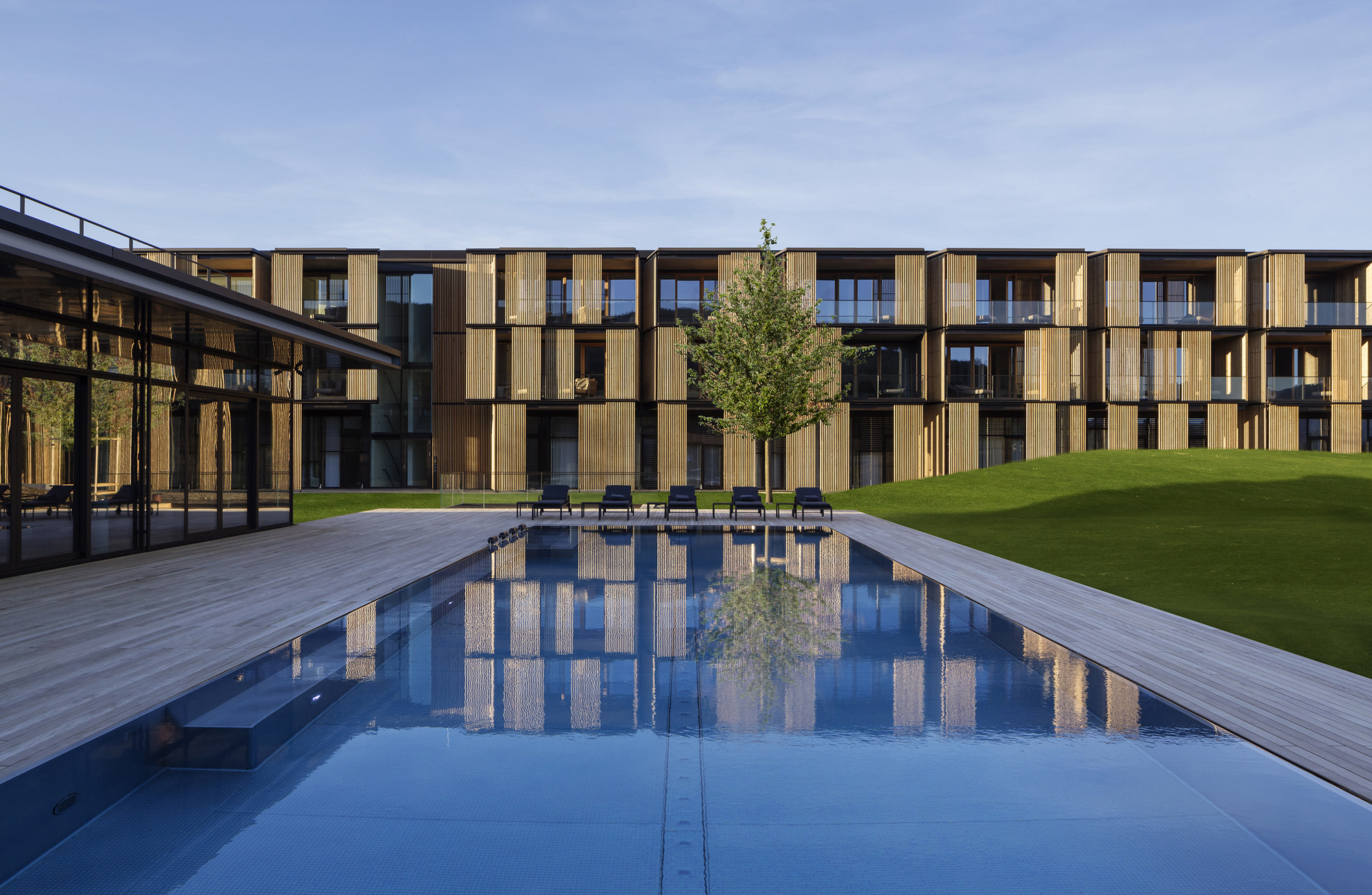 Lanserhof tegernsee ingenhoven architects archdaily for Design hotel slowenien