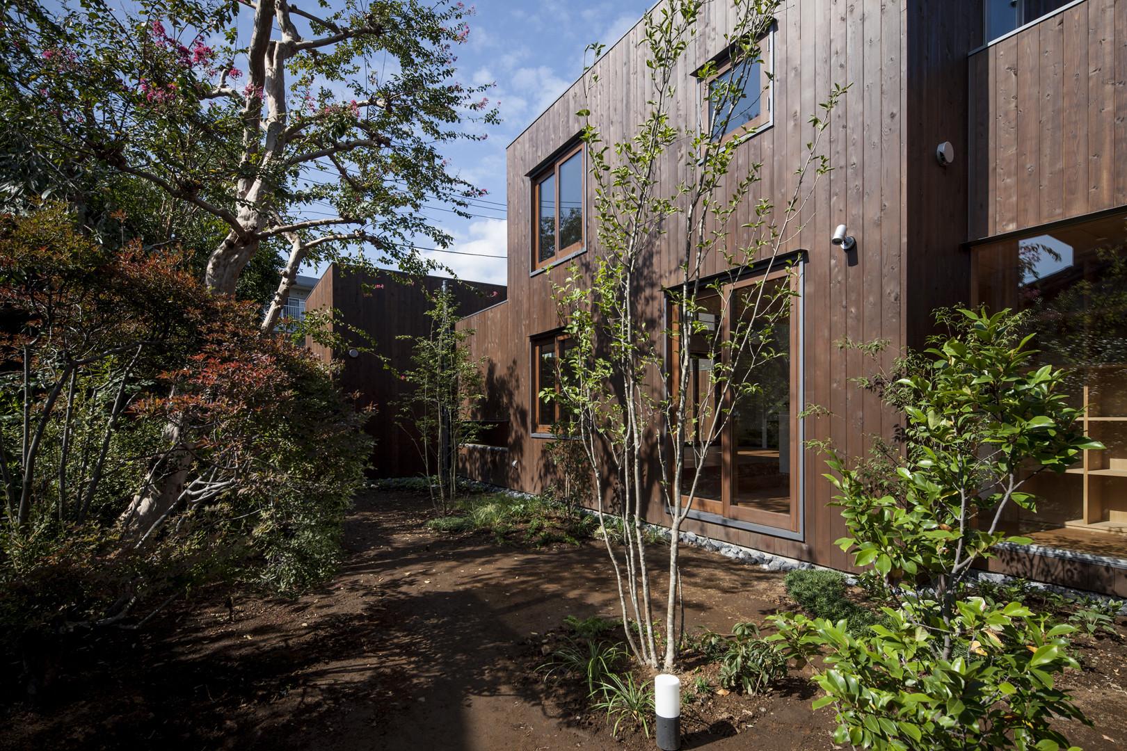 House in komae architect cafe
