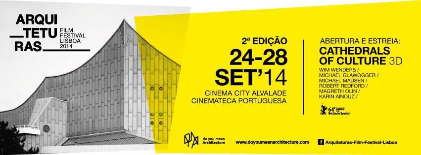 Programação do Arquiteturas Film Festival Lisboa , Courtesy of Arquiteturas Film Festival Lisboa