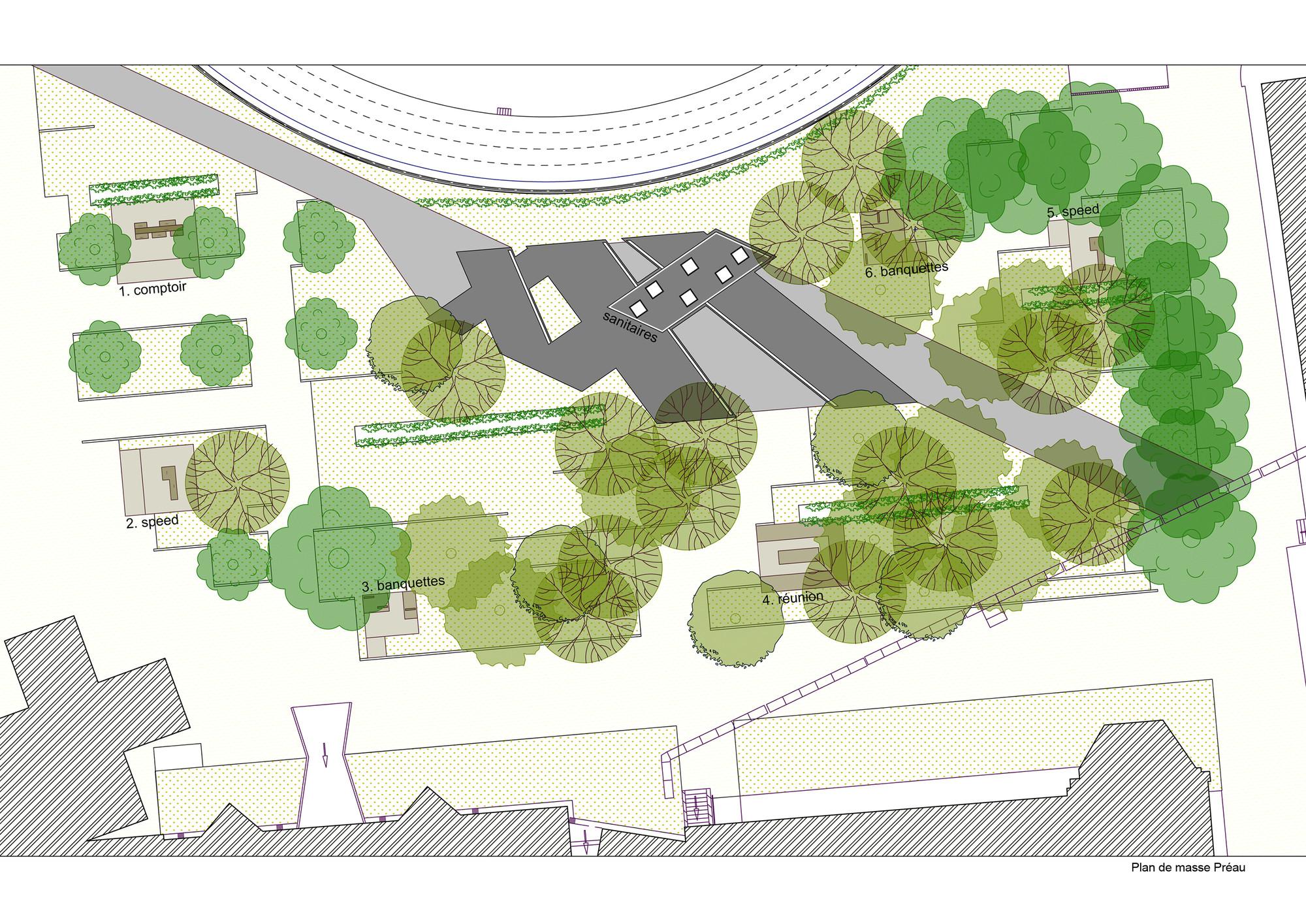 Lyc e louis barthou pierre marsan plataforma arquitectura for Plantas ornamentales para parques