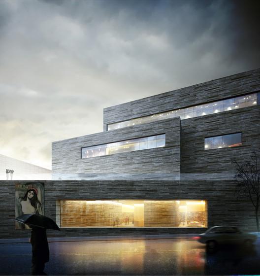 © Kleihues + Schuwerk Gesellschaft von Architekten