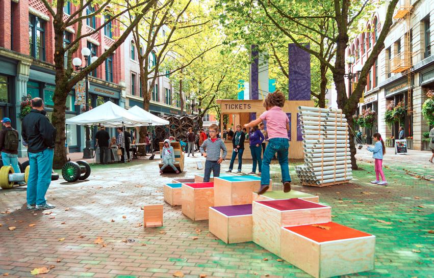 Interven o urbana como assunto de aula archdaily brasil for Ejemplos de mobiliario urbano
