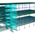 Estrutura geral - Modelo de cálculo. Image Courtesy of Arqbox