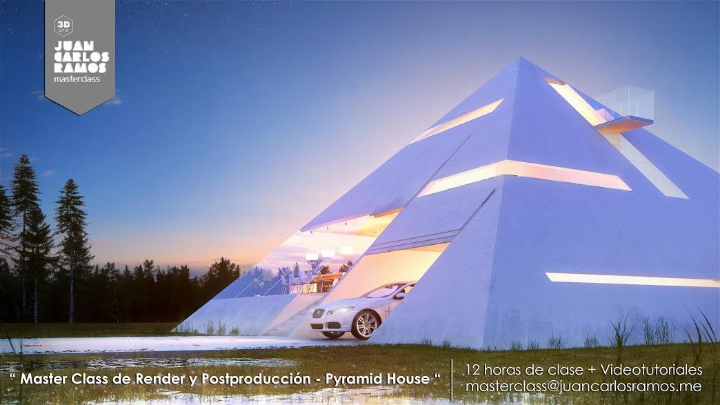 Curso Online: Master Class de Render y Postproducción – Pyramid House [¡Sorteo cerrado!]