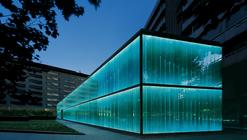 Proyecto de Iluminación: la fachada del Roca Barcelona Gallery por artec3 Studio