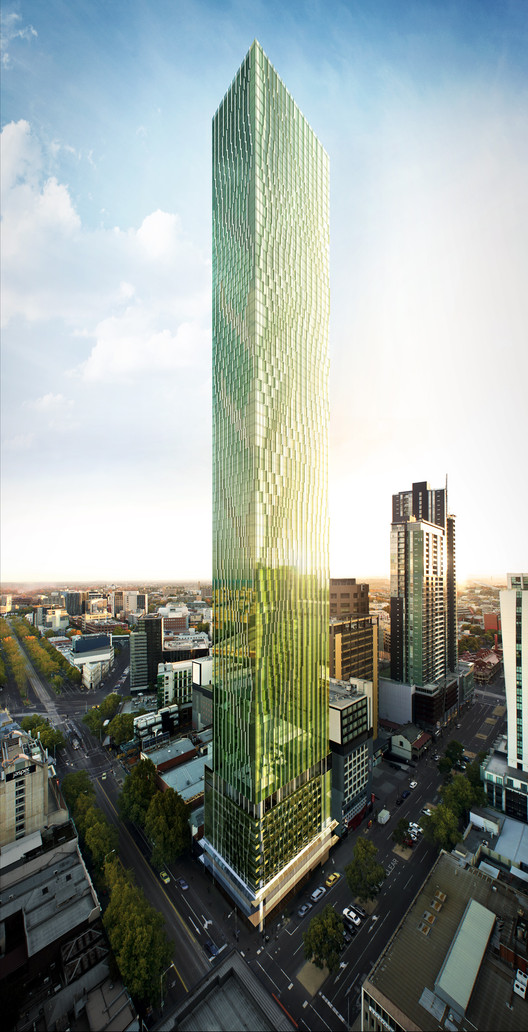 Elenberg Fraser Reveals Designs for Melbourne's Tallest Residential Tower, Courtesy of Golden Age Group