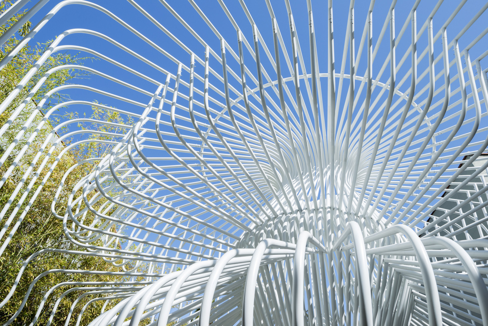 Gallery of this whimsical cage redefines public space 12 for Where to get c c cages
