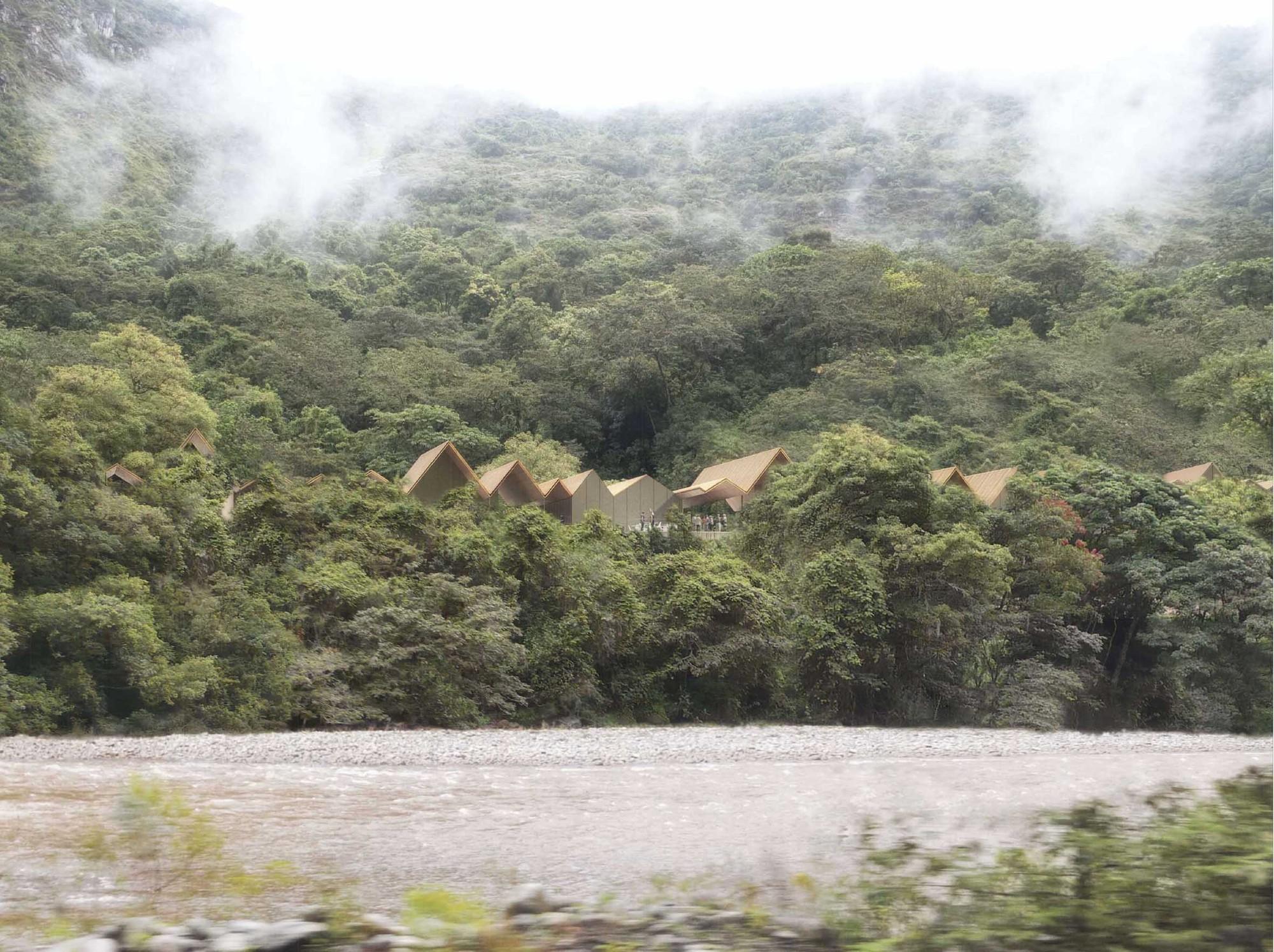 Mención Honrosa en concurso de ideas para futuras intervenciones en Machu Picchu / Perú, Courtesy of FD Arquitectos + Abalosllopis Arquitectos