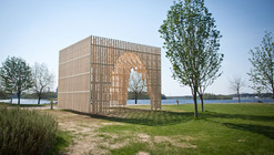 HILA Pavilion / Digiwoodlab Project + University Of Oulu Students