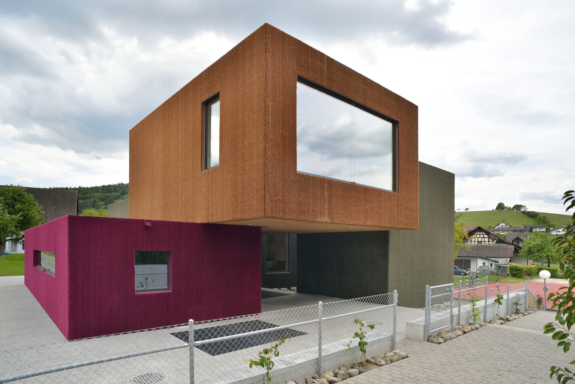New Weiach Kindergarten / L3P Architekten, © Sabrina Scheja